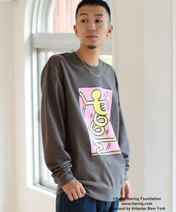 【SPECIAL PRICE】BEAMS T / KEITH HARING クルーネックスウェット