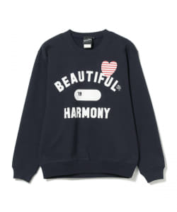 【SPECIAL PRICE】BEAMS T / BEAUTIFUL HARMONY クルーネック スウェット