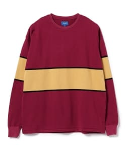 BEAMS JAPAN / Panel Border T-Shirts