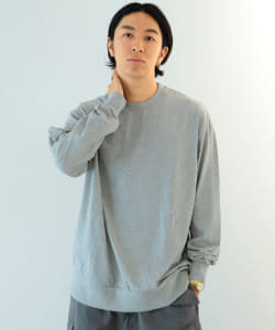 HEAVYWEIGHT COLLECTIONS / Solid Rib Long Sleeve Tee