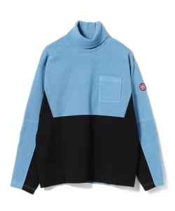 C.E / Overdye Turtle Neck Long Sleeve Tee