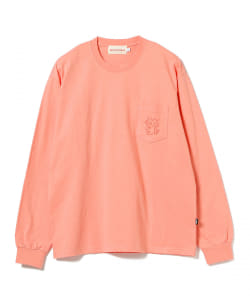 Victoria / QUEENHEAD POCKET Long Sleeve Tee
