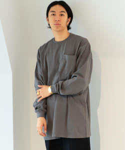 HEAVYWEIGHT COLLECTIONS × BEAMS T / 別注 Tall Pocket Long Sleeve Tee