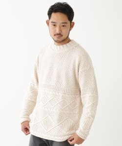 【アウトレット】Geo Trowark / Fisherman Knit
