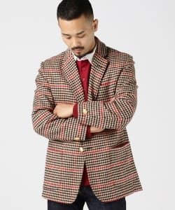 ROWING BLAZERS / GUNCHECK TWEED JACKET