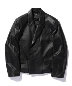 【予約】VAPORIZE / Leather 1B Jacket