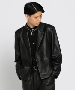 VAPORIZE / Leather 1B Jacket