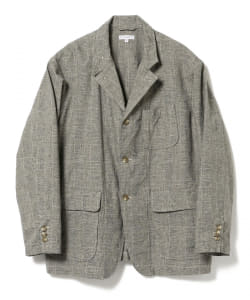 ENGINEERED GARMENTS / Loiter Jacket Glen Plaid Houndstooth