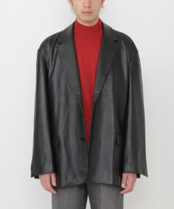VAPORIZE / Sheepleather Loose 2B Jacket