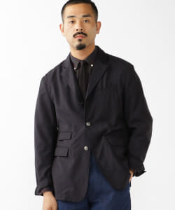 ENGINEERED GARMENTS × BEAMS PLUS / 別注 MID FIELD BLAZER TROPICAL WOOL