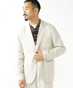 MOJITO × BEAMS PLUS / 別注 RITZ JACKET リネン シルク