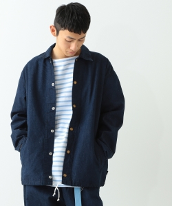 Lee × BEAMS / 別注 Easy Denim Coach Jacket
