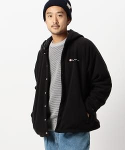 Champion × BEAMS / 別注 POLARTEC(R) Hood Coach Jacket