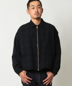 THE DAY × BEAMS PLUS / 別注 Boxy Zip Jacket