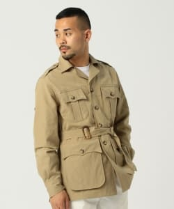 Willis&Geiger × BEAMS PLUS / 別注 Bush Jacket ブッシュポプリン