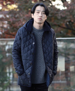Traditional Weatherwear × BEAMS / 別注 WAVERLY フーディー