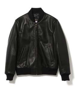 BEAMS PLUS / LEATHER SPORTS JACKET