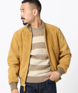 BEAMS PLUS / SUEDE SPORTS JACKET