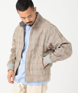 ts(s) /Zip Front Harrington jacket