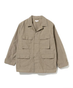 ENGINEERED GARMENTS / COTTON NYLON MINI TATTERSAL BDU  JACKET