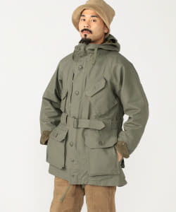 ENGINEERED GARMENTS / FIELD PARKA  Double Cloth