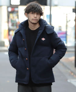 DANTON × BEAMS / 別注 Wool Mosser Down Jacket