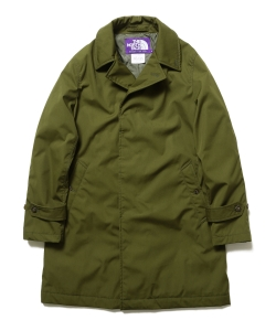 THE NORTH FACE PURPLE LABEL × BEAMS / 別注 ステンカラーコート 17AW