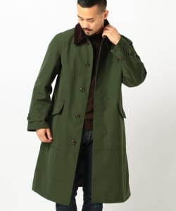 Barbour × BEAMS PLUS / 別注 SINGLE BREASTED COAT 2Layer