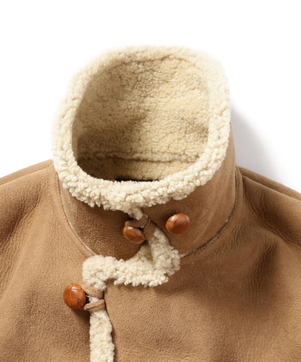 Shearling Coat 11-19-1149-202: Brown