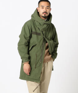 REMI RELIEF × BEAMS PLUS / 別注 M65 パーカ