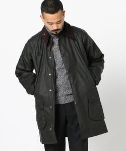 Barbour / BORDER WAXED COTTON
