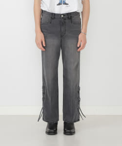 【予約】VAPORIZE / Lace Up Denim