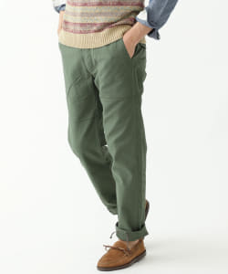 "ENGINEERED GARMENTS × BEAMS PLUS / 別注 ""GLASSFIELD PANTS""バックサテン"