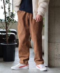【タイムセール対象品】Lee × BEAMS / 別注  Corduroy Buggy Easy Pants