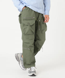 【アウトレット】ENGINEERED GARMENTS × BEAMS PLUS / 別注 Flight Pants RIP STOP COTTON