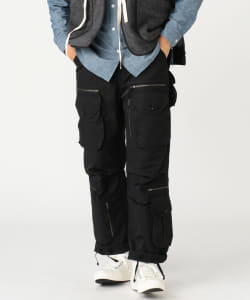 ENGINEERED GARMENTS × BEAMS PLUS / 別注 Flight Pants COTTON NYLON SATEEN