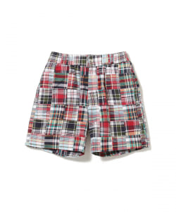 ROWING BLAZERS / PATCHWORK MADRAS SHORT PANT