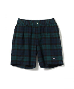 ROWING BLAZERS  / BLACK WATCH MADRAS SHORT PANT