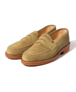 "ALDEN × BEAMS PLUS / 別注 ""Suede Penny Loafers"""