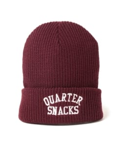 QUARTER SNACKS / Arch Beanie