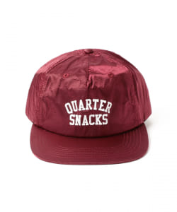 QUARTER SNACKS /  Arch Satin Cap