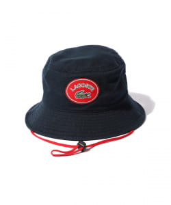 LACOSTE × BEAMS / 別注 ヴィンテージバッジ ハット