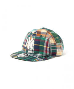 【予約】NEW ERA × BEAMS / 別注 Patchwork Logo Retro Crown 9FIFTY Cap