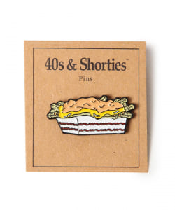 40s&Shorties / Carnivore Fries ピンバッヂ