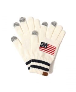 INFIELDER DESIGN × BEAMS / 別注 USA Glove(タッチパネル対応)