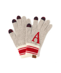 INFIELDER DESIGN × BEAMS / 別注  Alphabet Glove(タッチパネル対応)