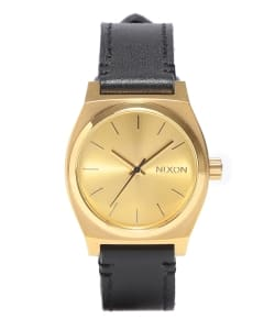 NIXON / THE MEDIUM TIME TELLER LEATHER
