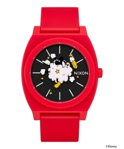 "NIXON × MICKEY MOUSE / ""Dust Up"" THE TIME TELLER P 3針ウォッチ"