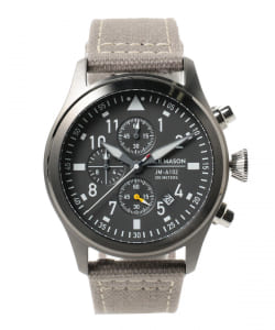 JACK MASON / AVIATION Urban Outdoor Collection AVIATION JM-A102-302 クロノグラフ ウォッチ