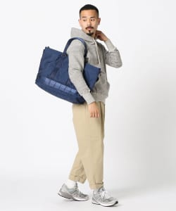"BRIEFING × BEAMS PLUS / 別注 ""MIL TRAINING TOTE""NAVY"